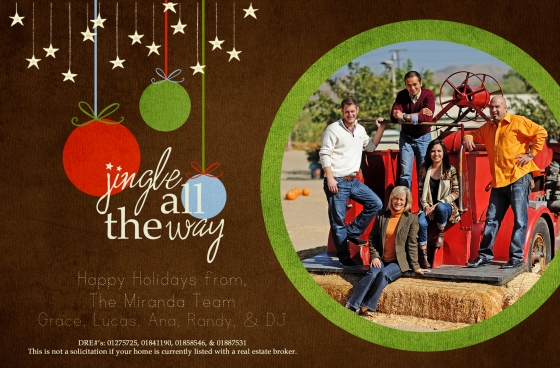 Happy Holidays from The Miranda Team
